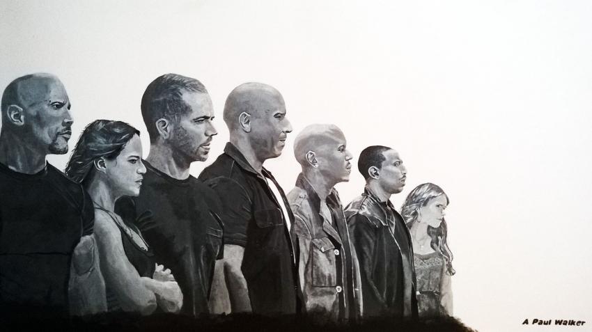Paul Walker, Vin Diesel by windjim